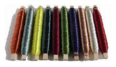 Spolette filo di rame  gr. 100 colorato