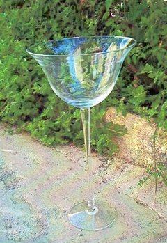 Calice   in vetro H 50