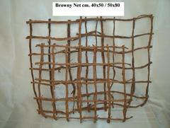 Browny net naturale