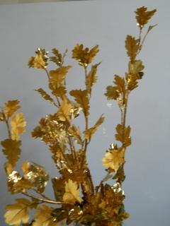 Ramo di Quercia  Lamina Oro H H 72