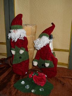 Babbo Natale H 43  con cerniera