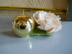 Candela sferica  lucida dm. 7,5