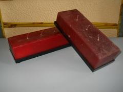Candela 3 fuochi rettangolare