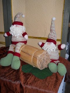 Babbo Natale   H 50 seduto