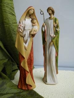 Natività H 47 stilizzata in resina