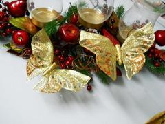Farfalle x 6   Oro con clip