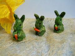 Coniglietti H 12 Aghi Verdi in 2 modelli
