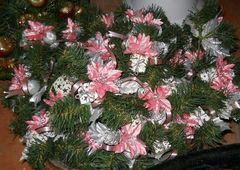 Pick madreperlato  Rosa e Argento con pino