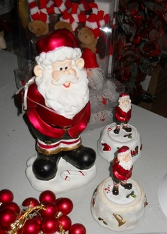 Babbo Natale H 16  con Carollon