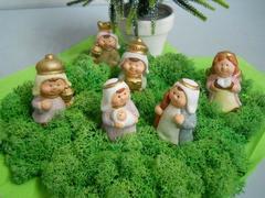 Natività Mini con 6 soggetti in sacchetto