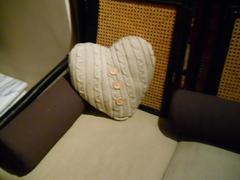 Cuscino cuore cm. 35
