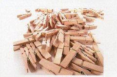Mollette legno cm. 3,5  Conf. 100 pezzi