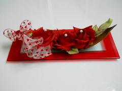 Capina 3 rose rosse