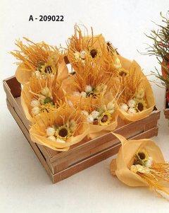 Mazzolini fioriti x 9 in cassetta legno in 2 colori - Sconti per Fioristi e Aziende