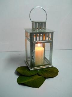 Lanterna Retta H 34 L. 15x15
