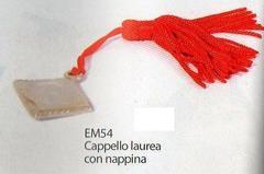 Cappello Laurea con nappina