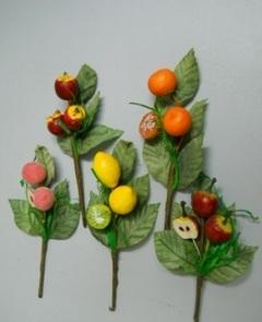 Frutta tagliata - conf. 8 piks Busta assortita - Sconti per Fioristi e Aziende
