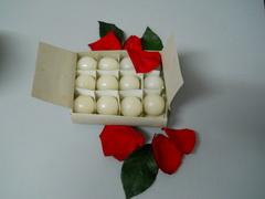 Candele tonde Ciliegine conf. da 12 candele