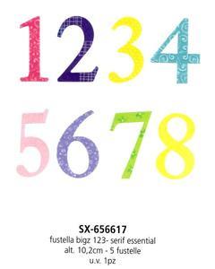 Fustelle Numeri H 10 Bigz