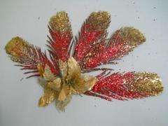 Foglie oro glitterate   in 3 modelli