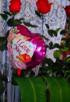 Palloncini steccati   S. Valentino