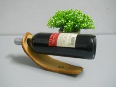 Portabottiglia Arquata in legno cm.  25   in 4 modelli