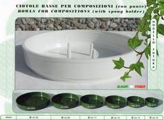 Ciotola Bassa in plastica cm. 13 - Conf. 15 pezzi  Futura