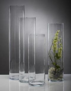 Cilindro in vetro   H 60 in 3 misure