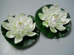 Fiore di loto artificiale cm. 20