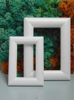 Cornice polistirolo cm. 32 x 24 rettangolare