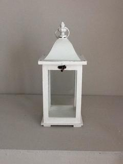 lanterna in legno quadra H 36  conf. 8 pezzi