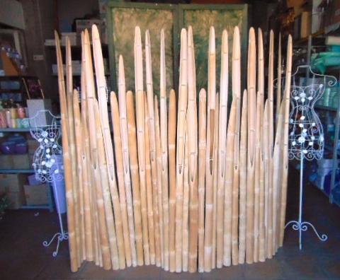 Staccionata Canna Bamboo H 175 x cm. 210 - Sconti per Fioristi e Aziende