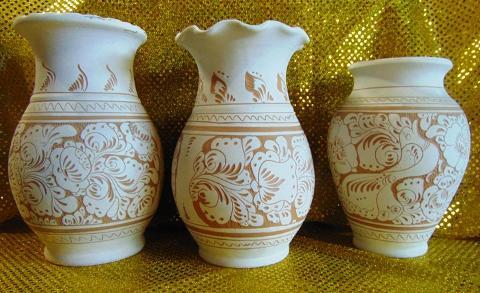 Vaso Ceramica H 30 Alba