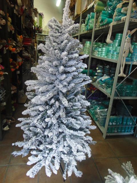 Albero di Natale H 150 Innevato Ibei