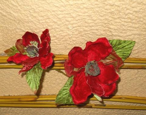 Magnolia Velluto Rosso  in 2 misure