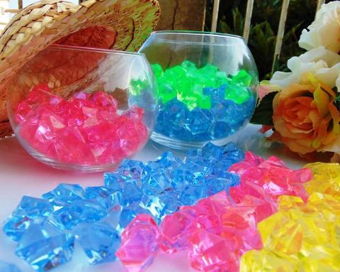 Ghiaccio sintetico da gr. 200 in barattolo  per fioristi e wedding