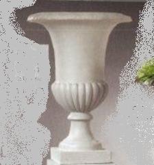 Calice Classico Base Spicchi in fiberclay H 70 dm. 49 - Sconti per Fioristi e Aziende