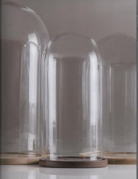 Campane in vetro H 14 e H 22 dm 14 e 12 - Sconti per Fioristi e Aziende