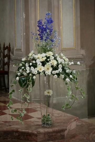 Cono in vetro H 40 dm. 16 Classico per fioristi e wedding