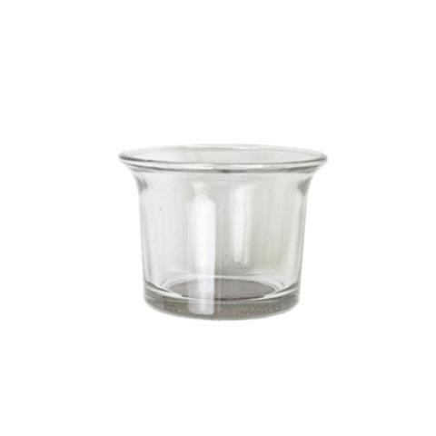 Porta tea light in vetro H 4,5 dm. 6,5 - Sconti per Fioristi e Aziende