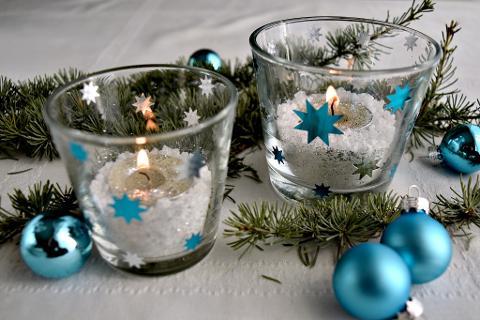 Porta tea light in vetro H 6,5 dm. 7 per fioristi e wedding