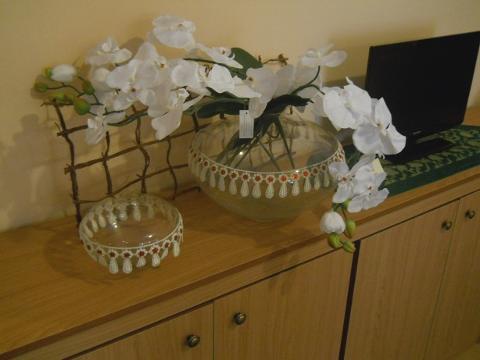 Vaso in Vetro dm. 21 H 15 Modello Grecia per fioristi e wedding
