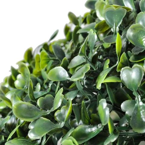 Boxwood Ball in Plastica dm. 27 - 23 - 18 per fioristi e wedding