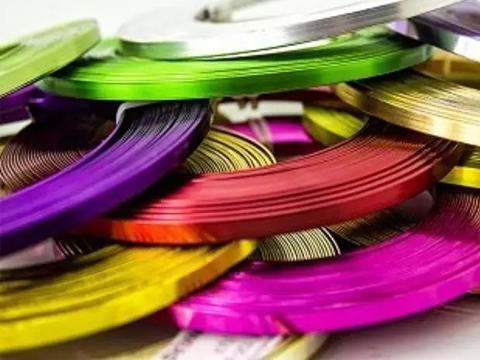 Alluminio piatto colorato mm. 5 x 10 metri - Sconti per Fioristi e Aziende