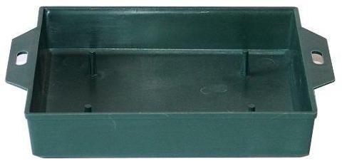 Portaspugna cm. 13 x 12 H3 in plastica Verde - Sconti per Fioristi e Aziende