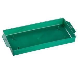 Portaspugna cm. 18 x 12 H 4 in plastica Verde - Sconti per Fioristi e Aziende