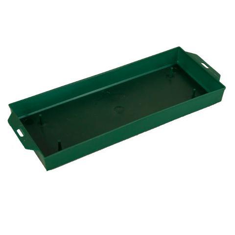 Portaspugna cm. 26 x 12 H 3.5 in plastica Verde - Sconti per Fioristi e Aziende
