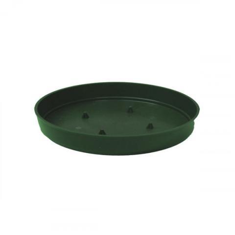 Ciotola Bassa cm. 22 H. 4.5 in plastica Verde - Sconti per Fioristi e Aziende