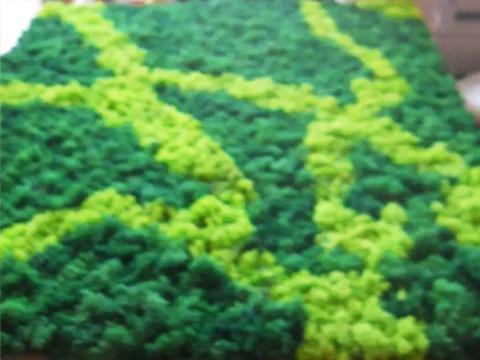 Pannello Moss cm. 80 x 120  Flat Work - Sconti per Fioristi e Aziende