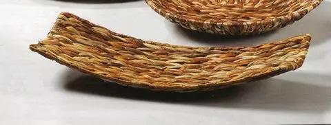 Vassoio in banano intrecciato   cm. 56 x 25 - Sconti per Fioristi e Aziende